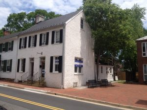 Mesh Omnimedia office in historic downtown Leesburg, Virginia